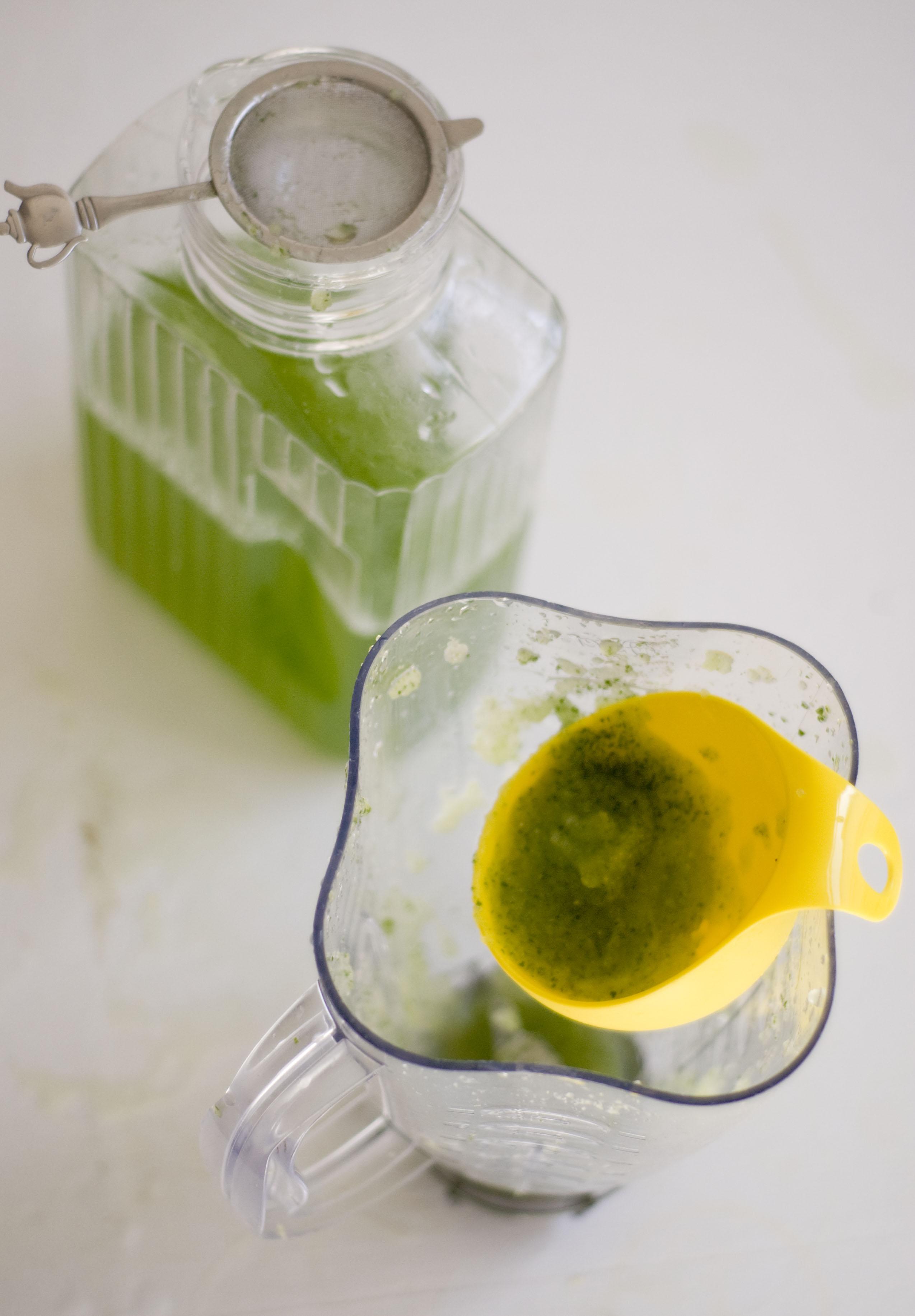 Agua de pepino, limon y jengibre con miel | hers&hers